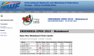 INDONESIA OPEN 2015 RESULT